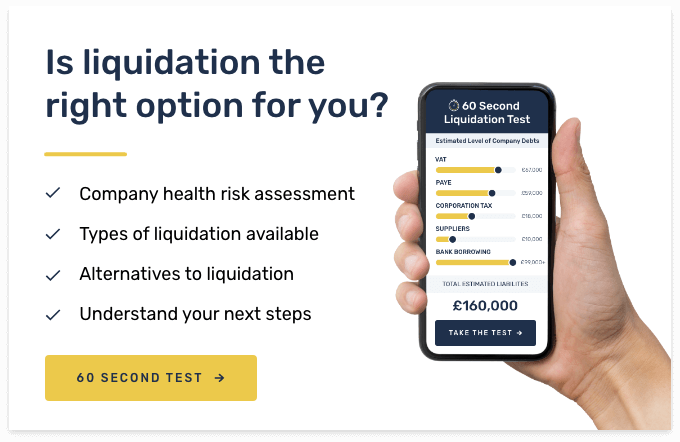 60 Second Liquidation Test
