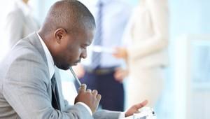 Businessman Thinking About CVL