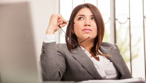 Businesswoman Thinking About MVL