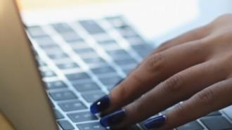 Businesswoman On Laptop