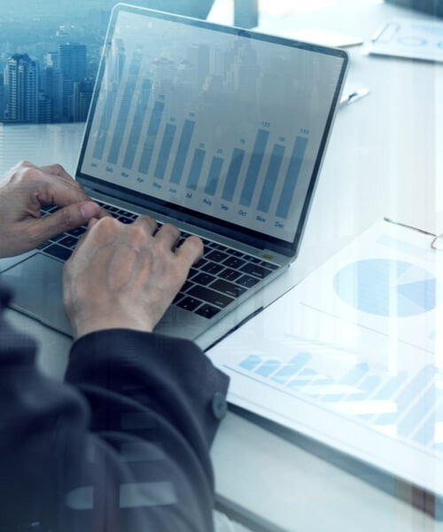 Shareholders Looking At Business Data