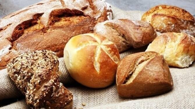 Bread Rolls In A Bakery