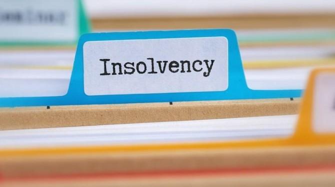 Folder Tab Labelled Insolvency